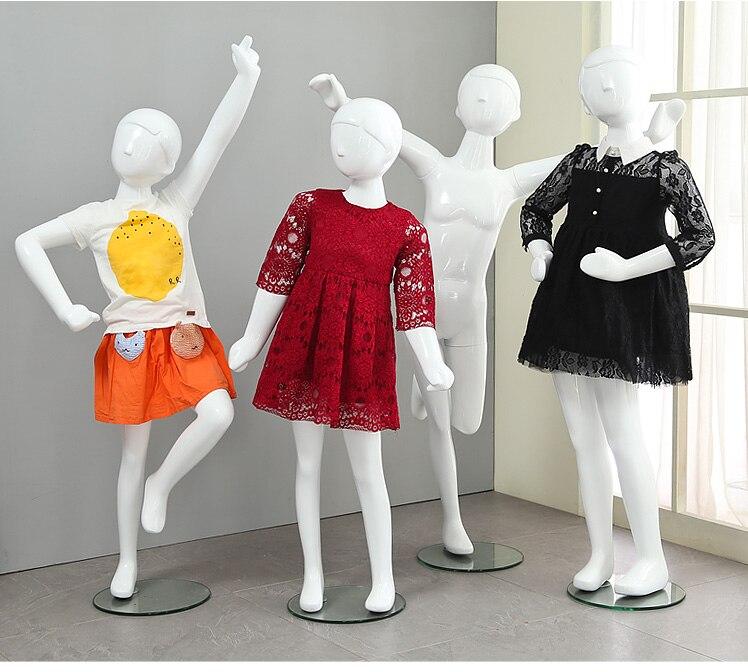 Novo de Alta Fibra de Vidro Criança na Promoção Novo Qualidade Manequim Criança Corpo Inteiro Estilo Elegante Modelo