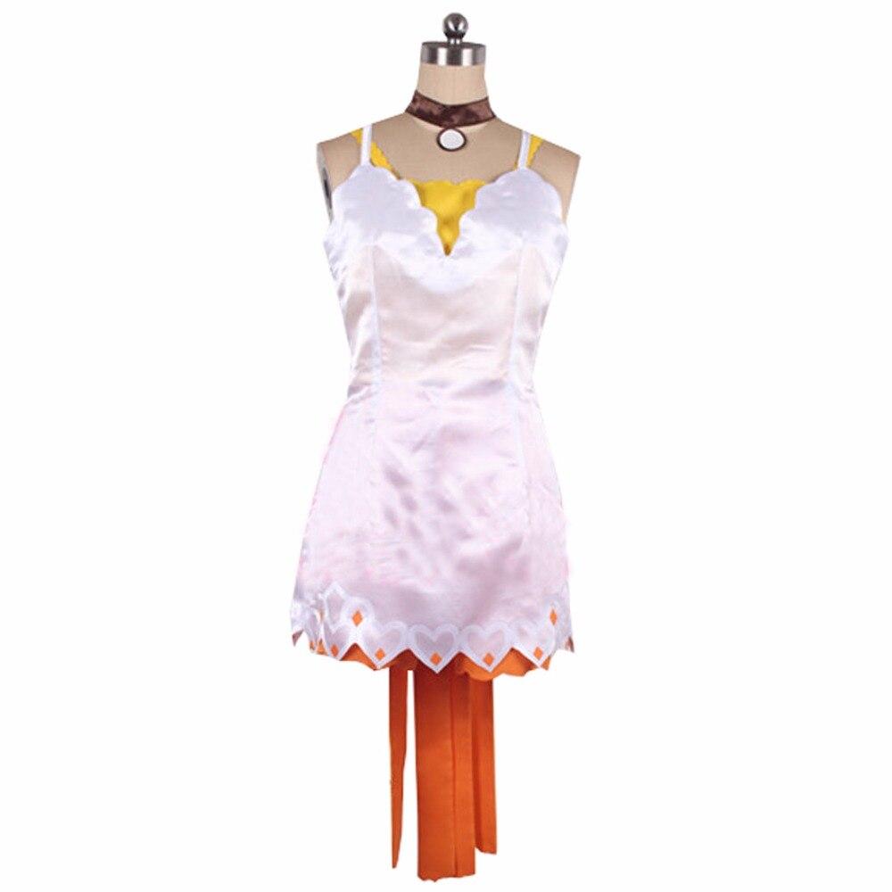 Contos de Zestiria Edna Cosplay Costume Qualquer Tamanho 2022