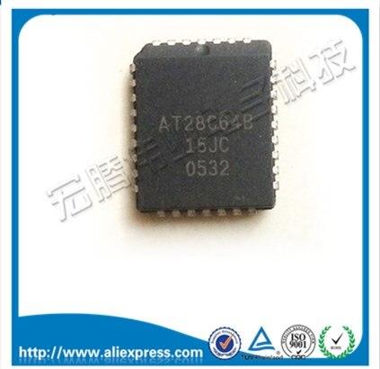 Бесплатная доставка. AT28C64 20JC Запись копии оригинальной памяти IC AT28C64, AT28C64 25JC