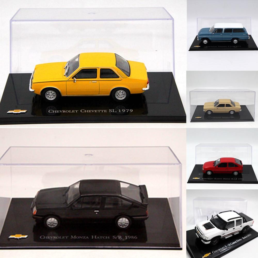 Montón de Altaya 1:43 IXO para Chevrolet Chevette Monza/Amazona/Kadett escotilla/opala/Vectra/Celta/juguetes de coche...