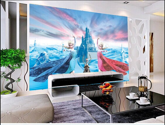 Custom children wallpaper, the princess aisha murals for paradise children room wall paper DE parede vinyl which wallpaper