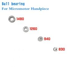 1 ensemble/4 pièces fort 210 roulement à billes utilisé pour 105L 102L micromoteur pièce à main remplaçant le roulement à billes électrique perceuse accessoire outil