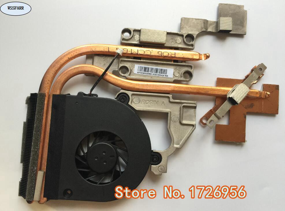 CPU de portátil Original, disipador de calor y ventilador adecuado para Acer Aspire 5741 5741g 5742 5742g notebook radiador 60PSX02001 AT0C9002DR0