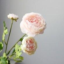 3-head Nice Ranunculus HIGH Quality silk flower Artificial Flowers wedding home party decoration