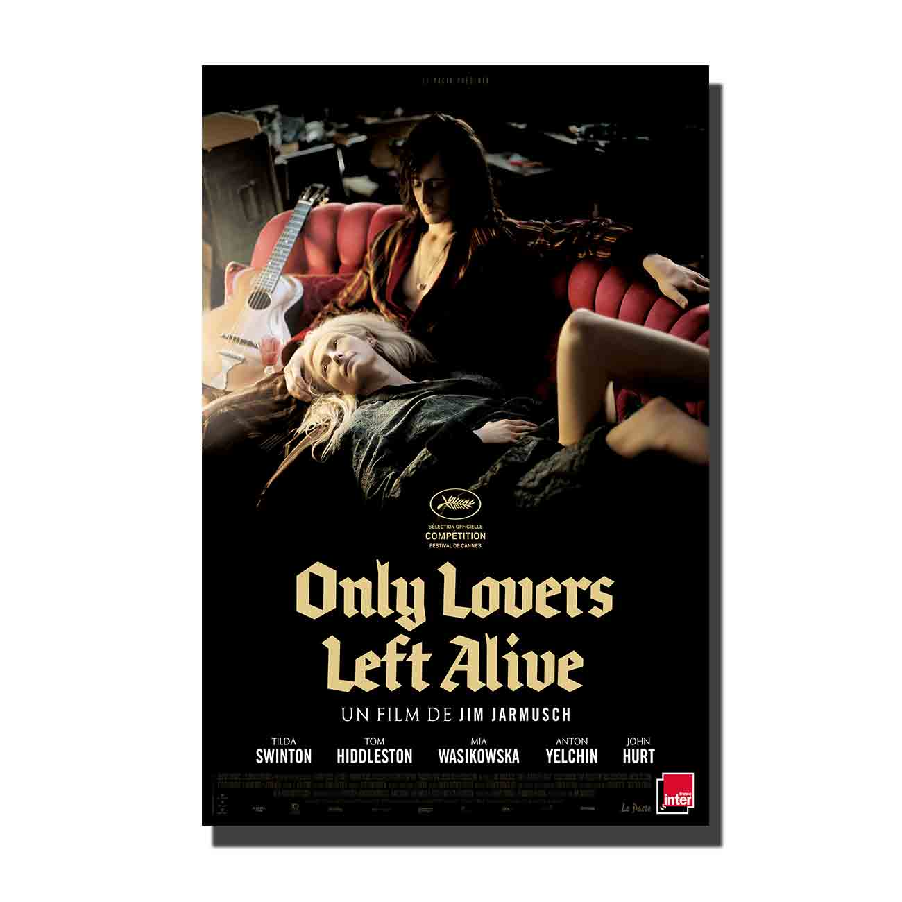 Cartel de Arte de película único amante izquierdo vivo decoración de pared personalizada para el hogar 8x1212x18 24x36canvas decoración de sala de estar