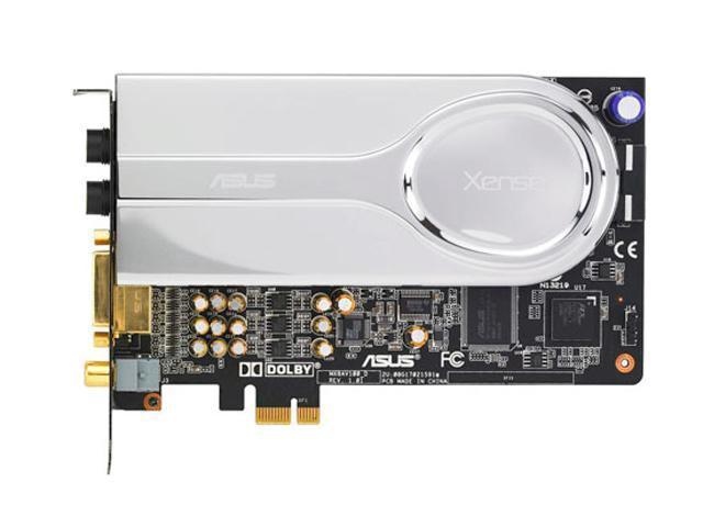 Usado, ASUS XONAR XENSE 7,1 canales 16/24bit 44,1 K/48K/96K/192KHz tarjeta de sonido...