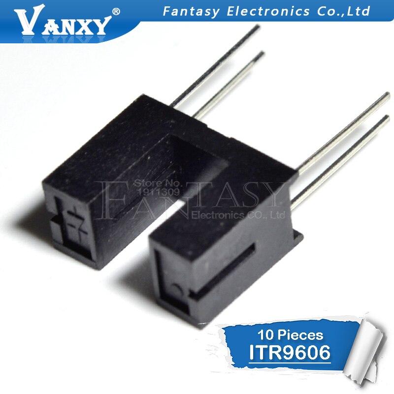 10PCS ITR9606 DIP4 9606 DIP Optische schalter (reflektierende, FOTOTRANSISTOR AUSGANG) Opto Unterbrecher
