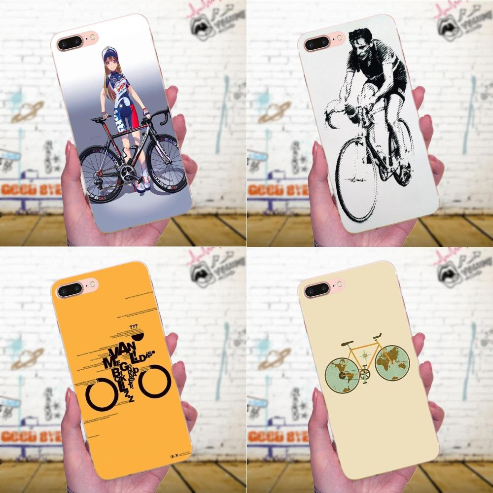 Bicicleta ciclista negro sobre blanco para Samsung Galaxy J1 J2 J3 J330 J4 J5 J6 J7 J730 J8 2015, 2016, 2017, 2018 Mini Pro fundas de TPU para teléfono móvil