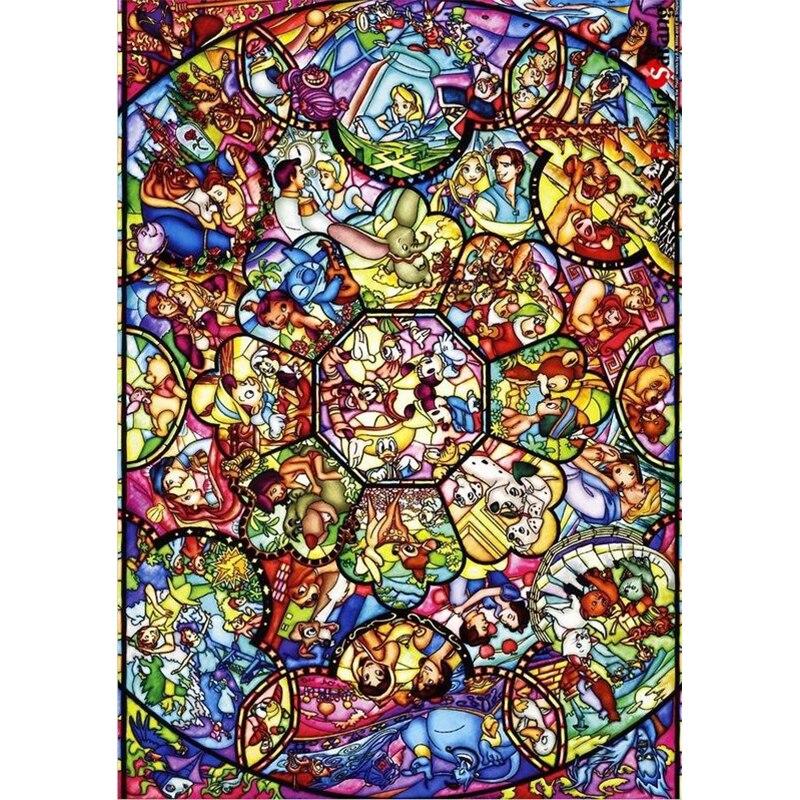 لوحة ماسية كرتونية مع فسيفساء من الراتنج ، تطريز كامل ، افعلها بنفسك ، 5D ، مجموعات غرزة متقاطعة ، ديكور الغرفة