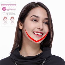 1 set 40pcs Face Lift V Sticker Makeup Face Chin Lift Tools Thin Artifact Invisible  Tape Face Make Up Tools