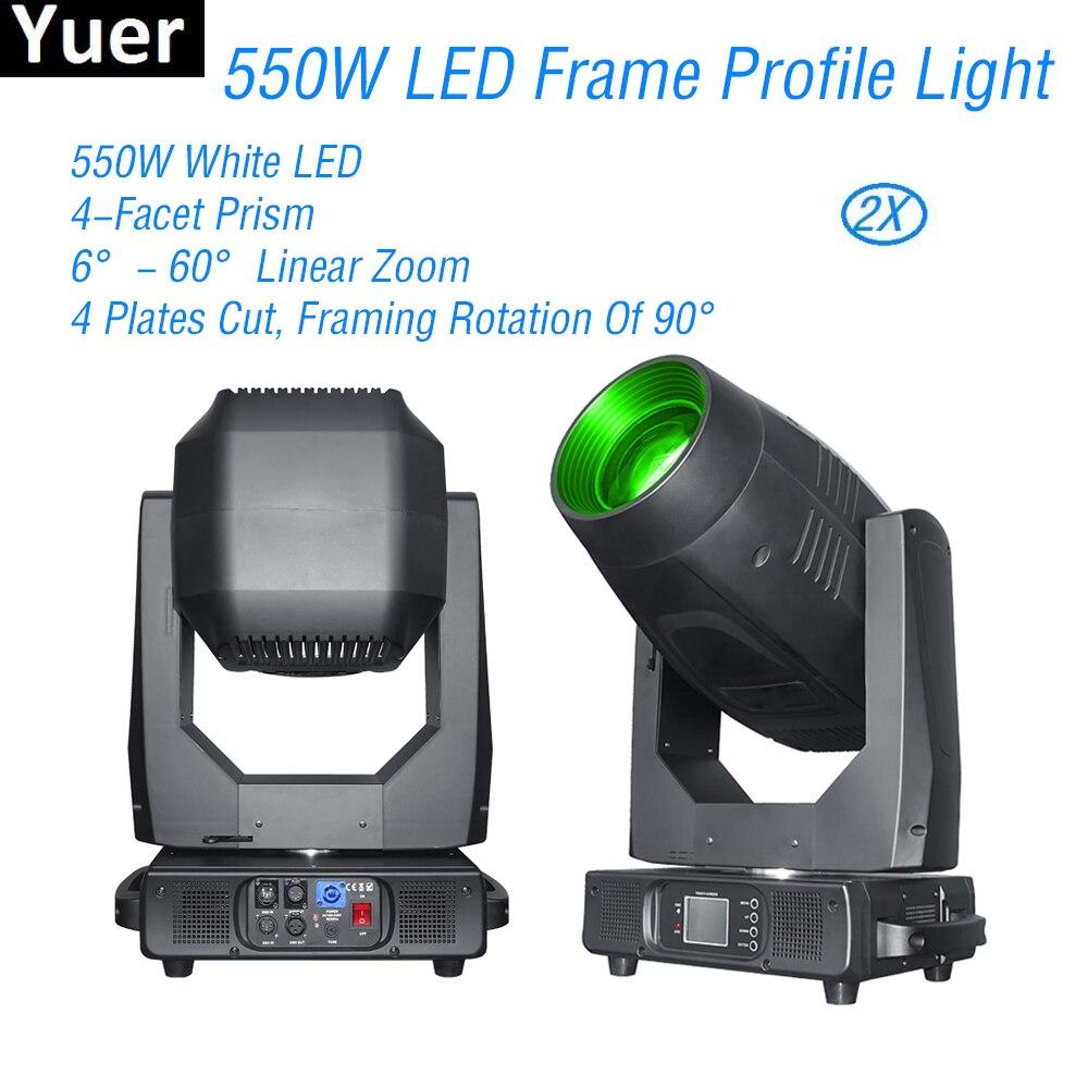550 W LED perfil de marco de luz de cabeza Frost se Iris efecto gran escenario equipos fiesta de discoteca DJ Club se luces de cabeza