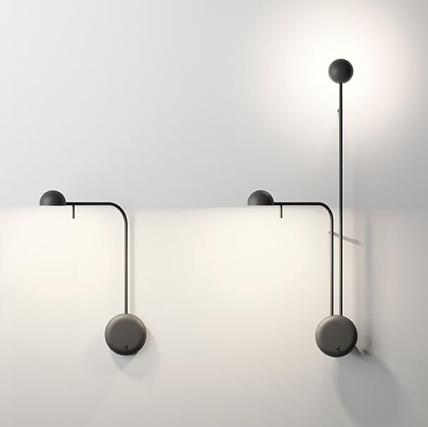 Nordic Desinger LED Wall Lamp Personality Lving Room Light Cafe Art Simple LED Bedroom Light Studio Light Free Shipping