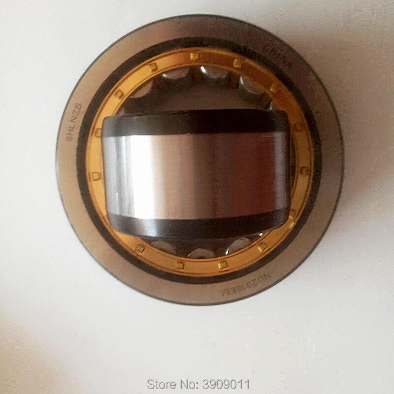 SHLNZB تحمل 1 قطعة NU2318 NU2318E NU2318M NU2318EM NU2318ECM 90*190*64 مللي متر النحاس قفص أسطواني الأسطوانة محامل