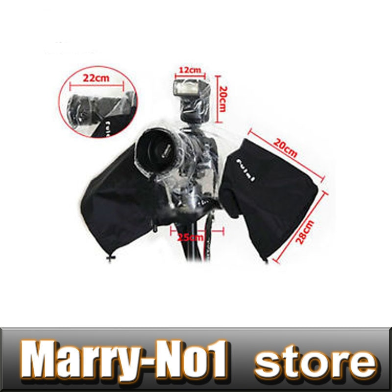 Cubierta para el polvo y la lluvia Protector impermeable para SLR DSLR 5D3 70D 5D4 1DX D5 D4 6D para Nikn D3000/D3200/D5100 para Pentax K30/