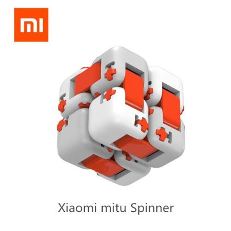 Original Xiaomi Mitu Cube Spinner Finger Bricks Building Blocks Finger Fidget Portable Intelligence Toys Gift for Kids Children