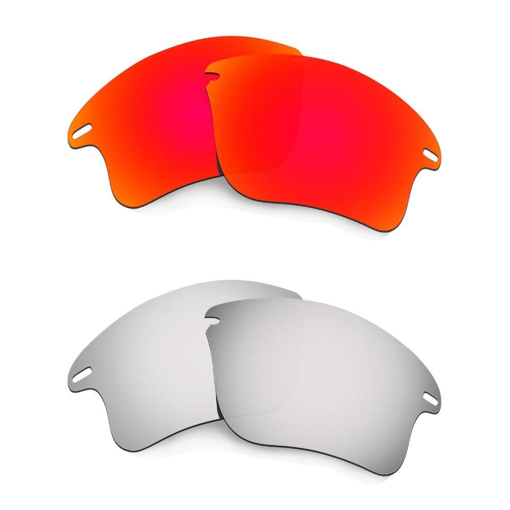 2 أزواج HKUCO لسرعة سترة XL الاستقطاب استبدال العدسات الأحمر والفضة-العدسات فقط