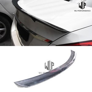 W204 High Quality Carboen Fiber Rear Spoiler 4 - Doors Sedan Car Styling For Mercedes-Benz C Class W204 Car Body Kit 2007-2013