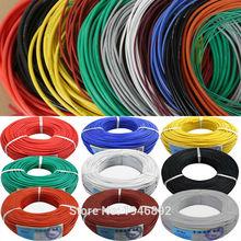 300 м/лот 984ft 30AWG гибкий силиконовый провод RC кабель 30AWG 11/0. 08TS наружный диаметр 1,2 мм с 10 видов цветов на выбор