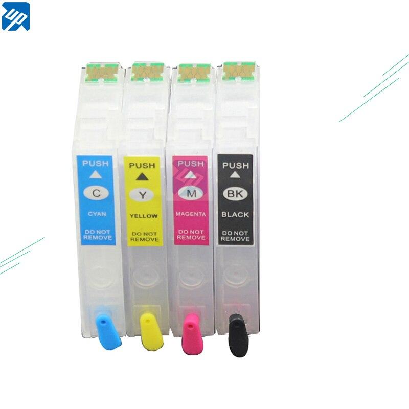 4PK T2991 29XL T2994 recargable cartuchos de tinta para Epson XP-255 XP-257 XP-352 XP-355 XP-452 XP-455 con chip de reinicio automático 29