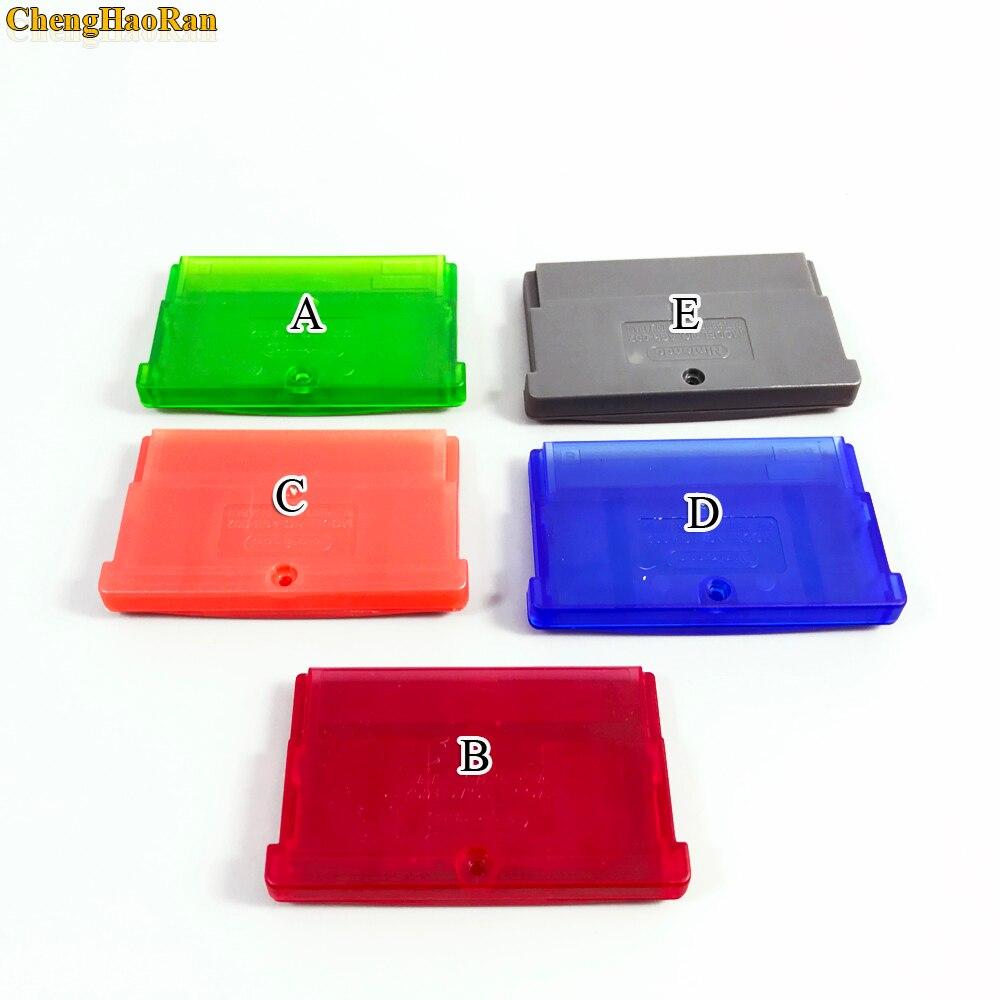 Carcasa de cartucho de juego de 5 colores para GBA