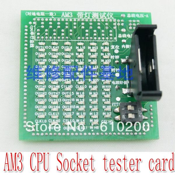Probador de zócalo de CPU de PC con envío gratis, probador de zócalo de CPU AM3 para escritorio