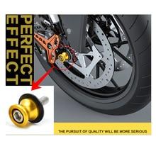 Motorcycle CNC Swingarm Spools slider 8mm 10m stands screws for SUZUKI RF900R RF 900 R RF 600R 600 750 GSX-R1000 DL 650 hayabusa