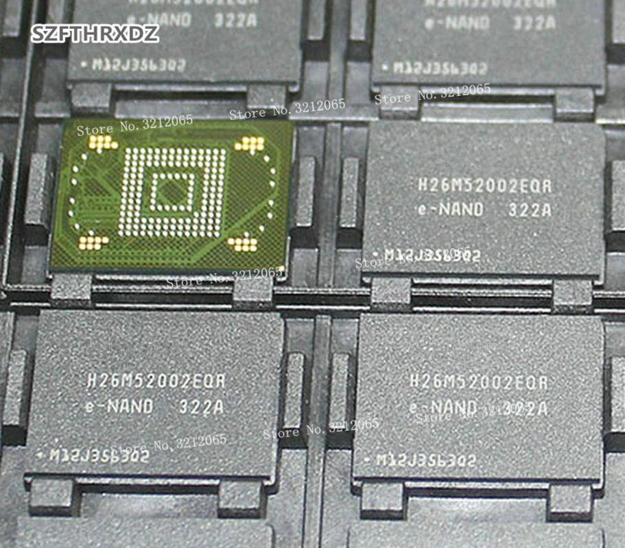 New Original H26M52002EQR BGA EMMC H26M52002 H26M52002EQRE-NAND