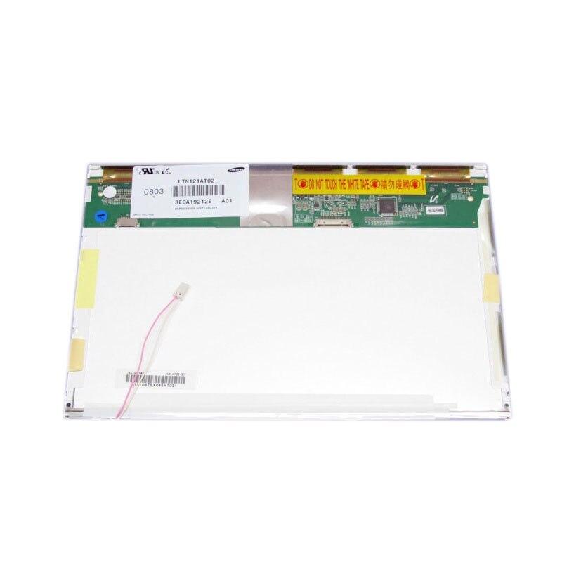 شحن مجاني LTN121AT02 N121I3-L01 B121EW03 V.6 V.7 LTN121AT03 LTN121W1-L03 LP121WX1 20PIN XJ 1280*800 CCFL laptop lcd screen