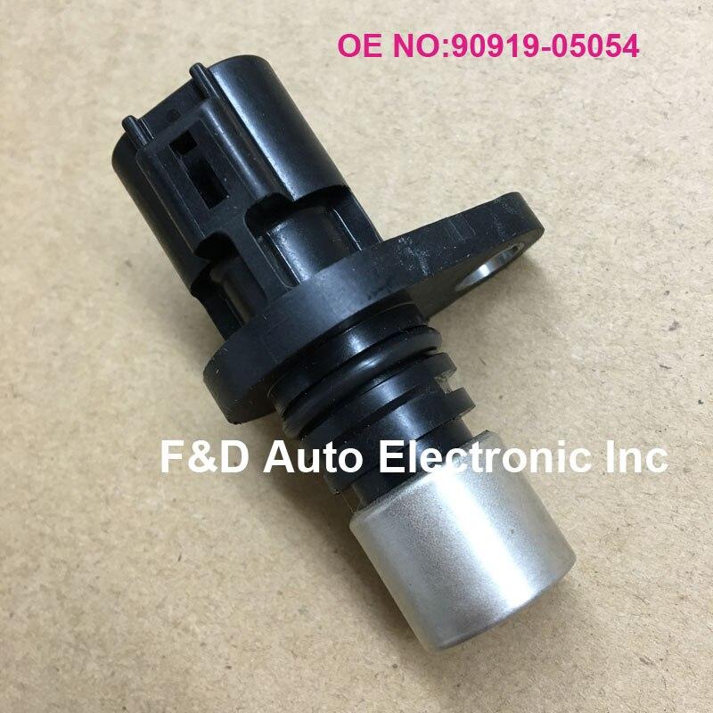 Sensor de posición de eje de leva genuino para TOYOTA Lexus OEM 9091905054 90919-05054 02-03 ES300 Sensor de posición de árbol de levas de motor izquierdo