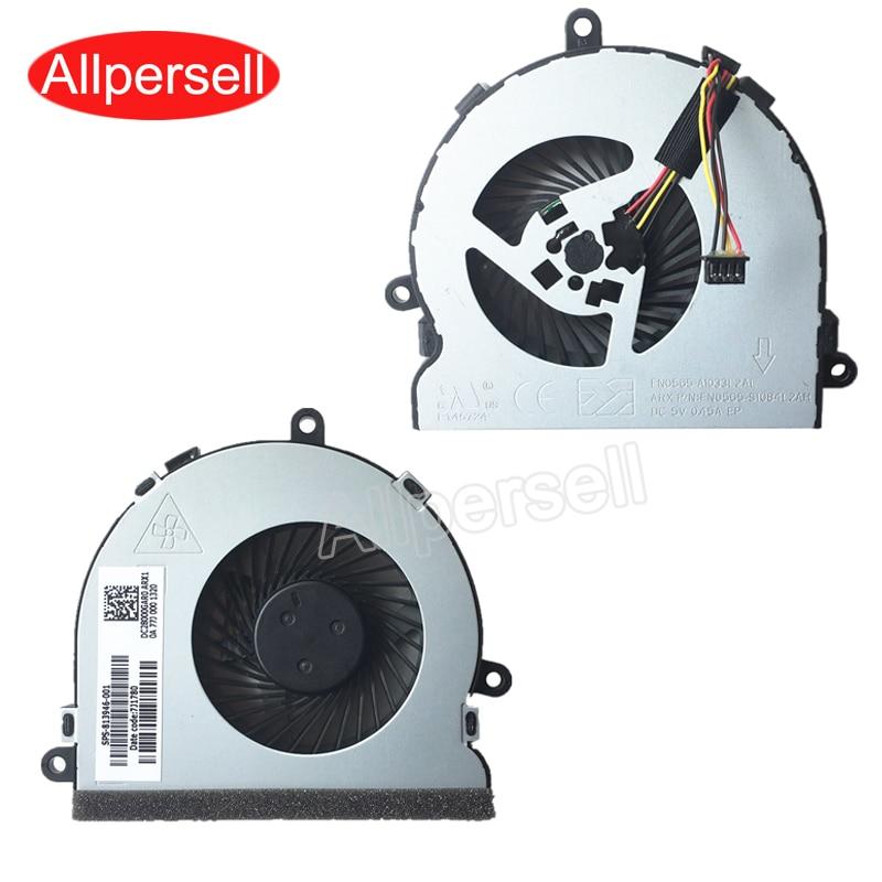 Novo portátil cpu cooler fan para hp 250g5 255g5 250g6 255g6 TPN-C130
