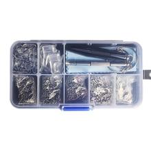 Color_max Kit de lunettes optiques réparation tournevis boîte à outils lunettes de soleil vis écrou ensemble