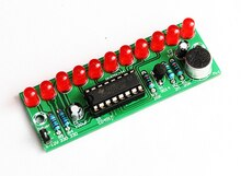 diy electronic kit set Voice-activated LED water flashing kit CD4017 Lantern Control Fun Electronic Production Teaching Training
