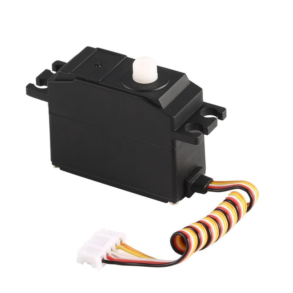 OCDAY 25g Plastic Gear Servo 4.8-6V for 1/12 Wltoys 12428 12423 RC Car Model Steering Part Accessories