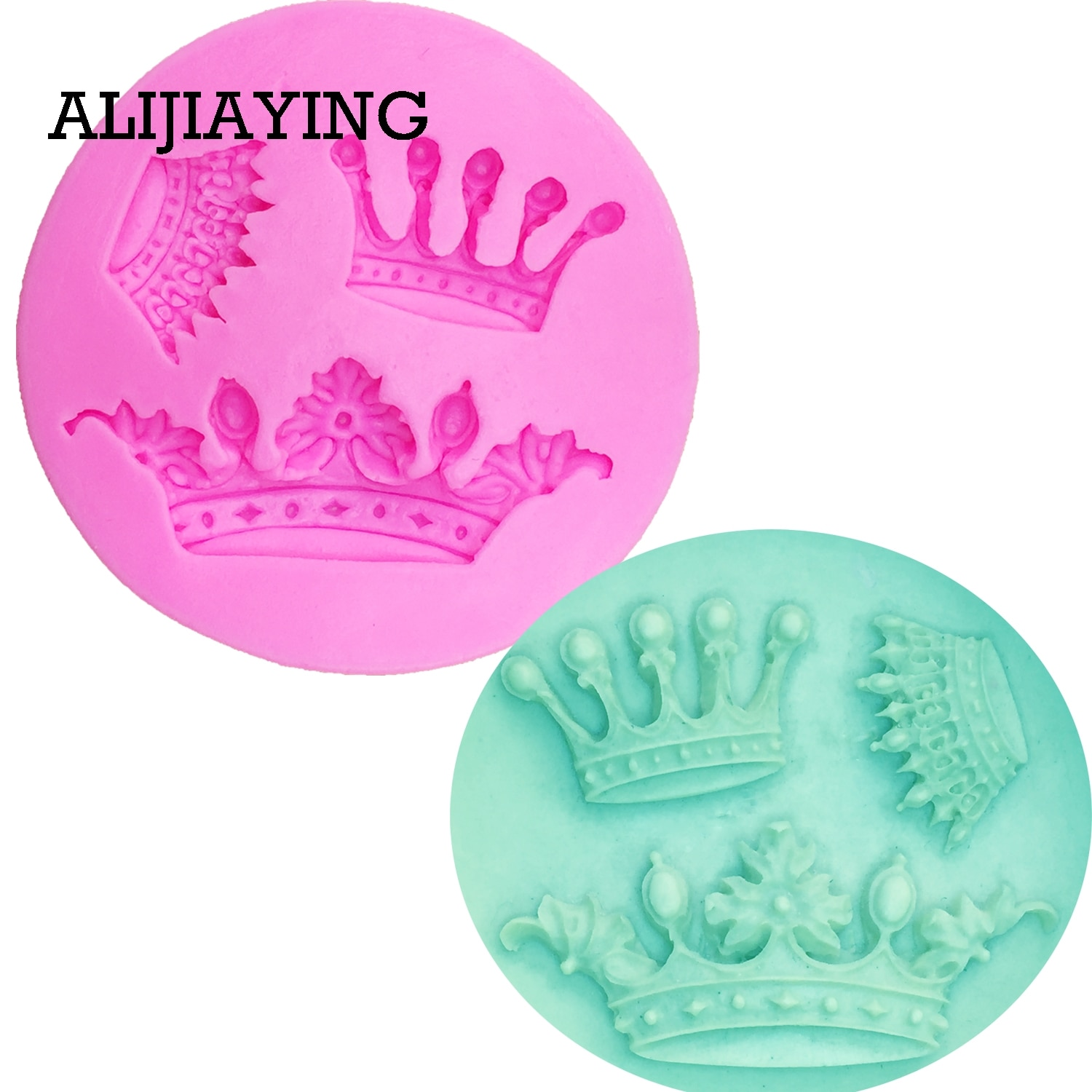 M0111 Crown Shape Silicone Mold,Cake Chocolate Kitchen Baking Mould, ,Dining Bar Fondant Cake Tools ,Cake Decorating hallowe shape silicone chocolate mold for cake decorating fondant mould baking tools resin form kitchen cake tools bakeware