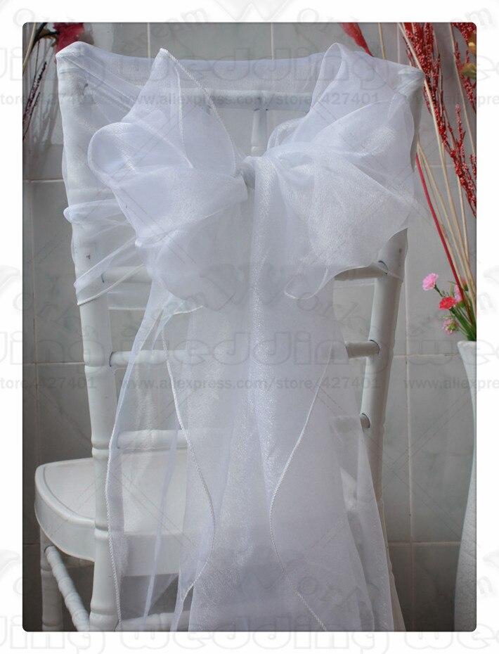 أغطية كرسي الأورجانزا ، 61 لونًا ، 1/3-100 قطعة ، 65 × 275 سنتيمتر ، أغطية/أغطية ، وشاح للمناسبات ، الزفاف ، الحفلات ، المنزل ، الولائم ، النسيج
