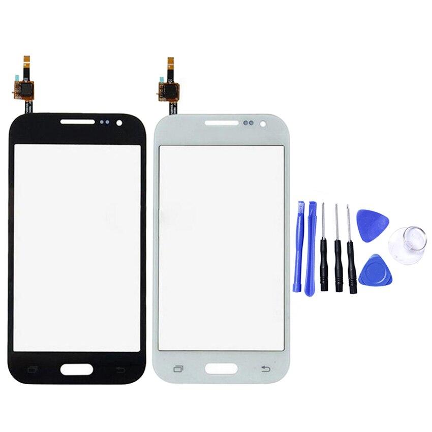 Digitalizador de pantalla táctil Sensor de lente de cristal frontal Panel para Samsung Galaxy Core primer G360 G360H G360F G361 G361F