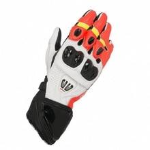 2019 New 4 Colors 100% Genuine Leather GP PRO R2 Motorcycle Long Gloves Racing Driving Motorbike Original GP PRO Cowhide Gloves