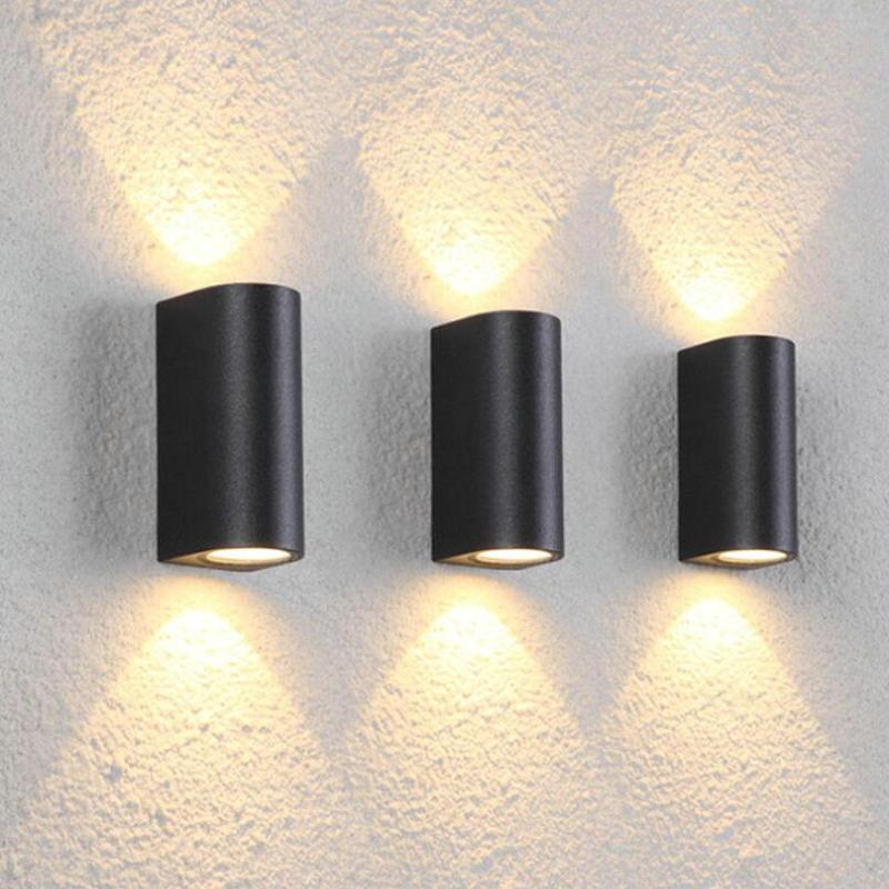 1 cabeza 2 cabezas 7W 14W COB LED lámpara de pared espejo luz cama-Iluminación dormitorio lámpara decoración lámpara de estudio lámparas de habitación