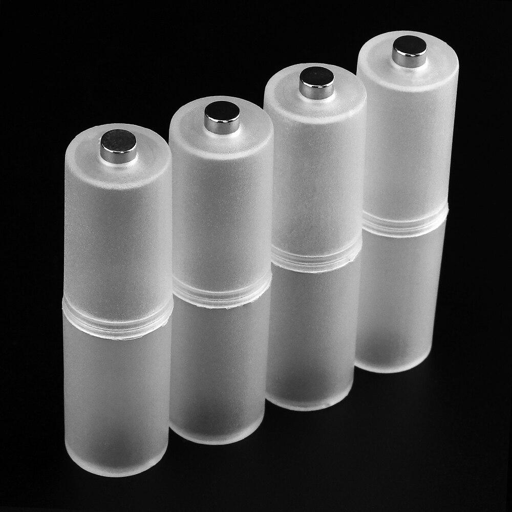 Powerlion AAA в AA Размер коробка для хранения сотового аккумулятора чехол адаптер для конвертера батареи держатель, переключатель для 4 x AAA батаре...