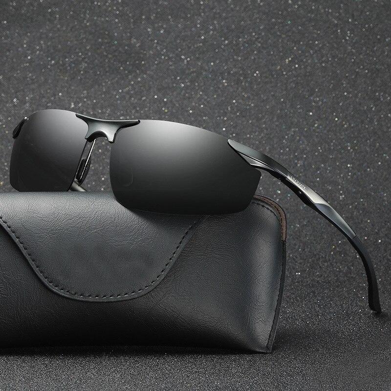 Gafas de sol polarizadas UV400 de moda para hombres, espejos de conducción para hombres, gafas de sol para hombres, gafas de sol XY043