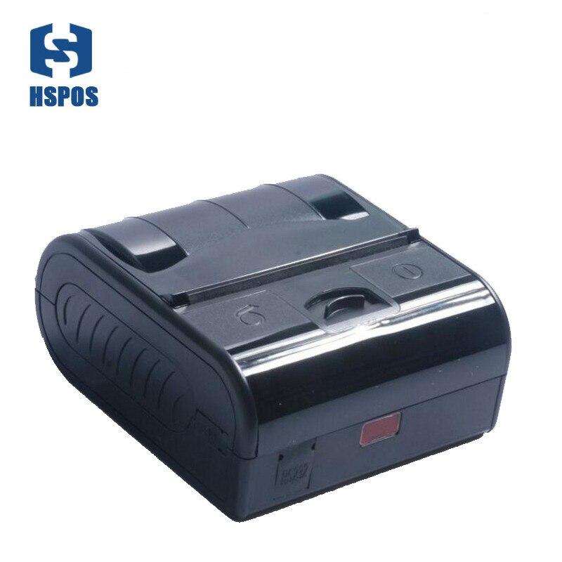 طابعة حرارية مقاومة للماء 80 مللي متر أندرويد طابعة فواتير بلوتوث صغيرة MPT3 المحمولة RS232 USB واجهة M80