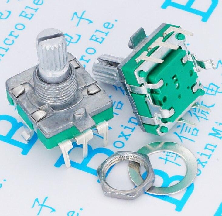 EC16 plum alça, longo 15 MM codificador,/360 graus rotary/codificador digital, cinco pé interruptor cinto