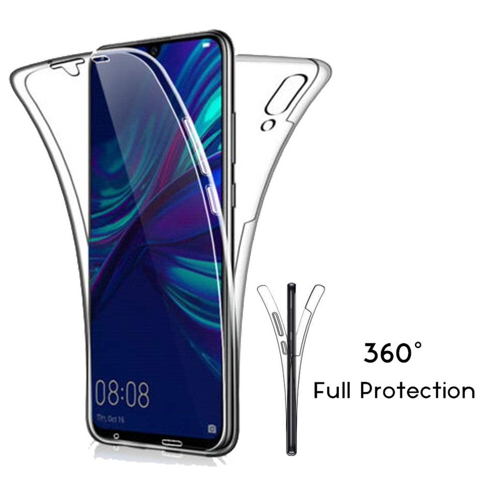 Luxury Soft 360 Full Cover for Huawei P30 P20 P10 P9 Lite Mate 20 10 Pro P Smart 2019 Case Crystal C
