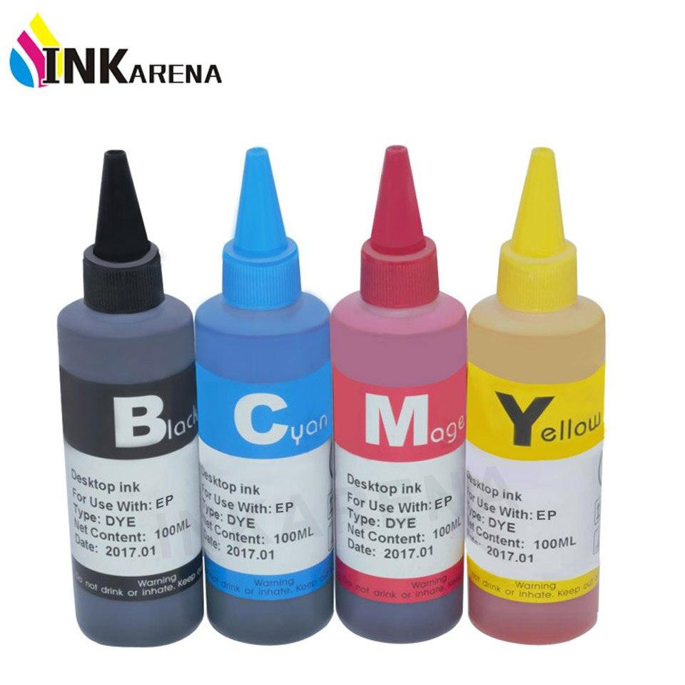 100ml botella de tinta de tinte Kit de recarga para Epson CX5900 TX209 TX210 TX213 TX219 TX220 TX228 TX300F TX400 TX409 TX410 TX419 tinta de impresora