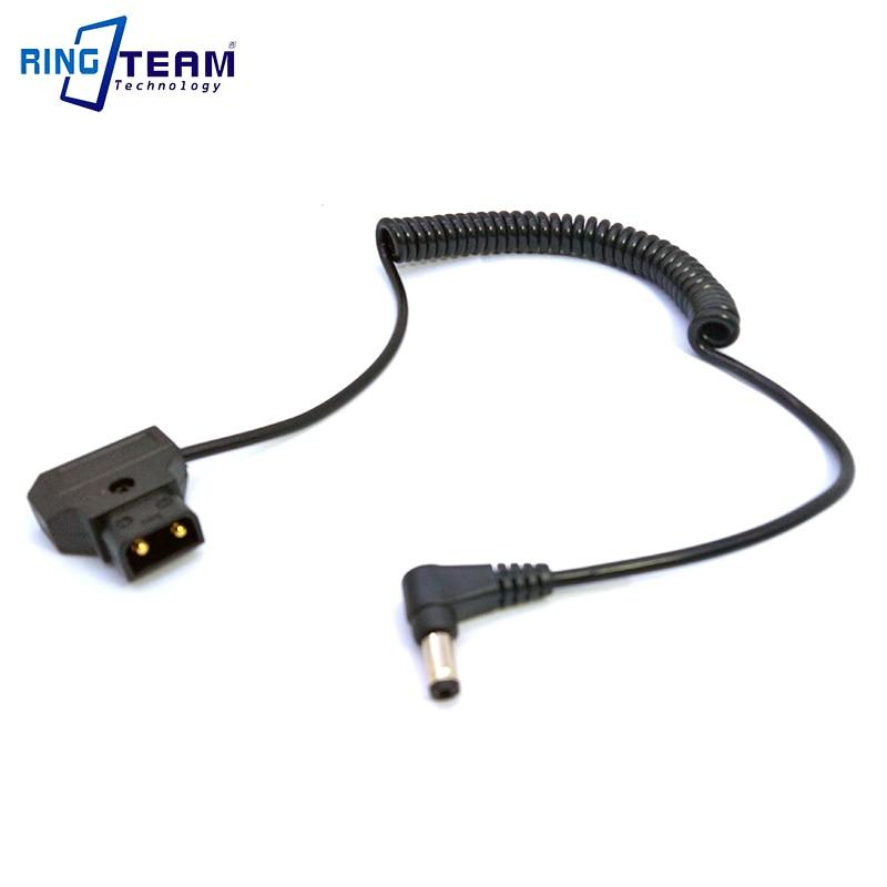 Вход + папа PTap DTap Power D-Tap до 5,5*2,5 мм DC правый угол штепсельная вилка спиральный растягивающийся кабель для осветительных ламп Sony