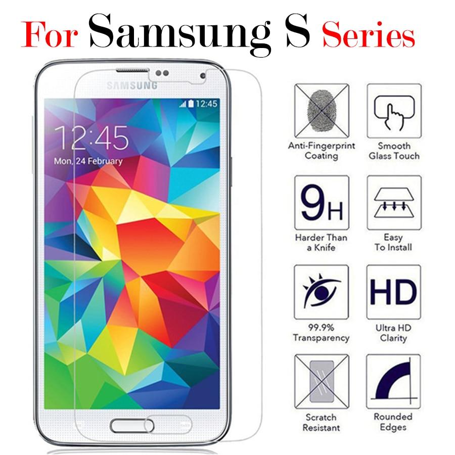 Para Samsung Galaxy s5 mini vidrio protectora de cristal para Samsung Galaxy...