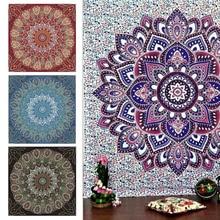 Tapisserie de paon de linde   Couvertures murales de décoration, tapis de Mandala, tapisserie murale suspendue, inde détail