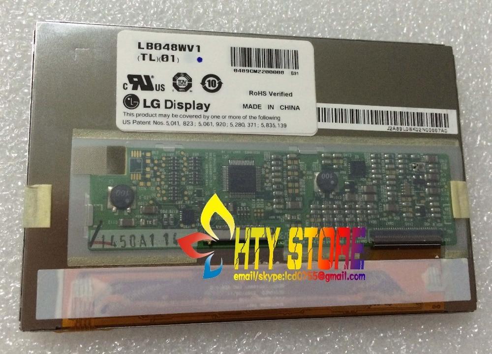 Original 4.8 polegada lb048wv1 lb048wv1-tl01 lb048wv1 (tl) (01) para benq s6mid visor de tela lcd com touch digitador da tela