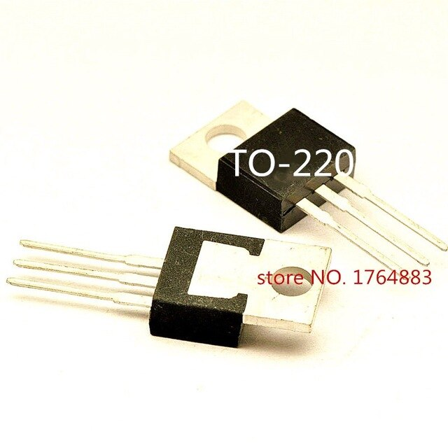 Original nuevo 5 uds/STP80NE03L-06 C3345 2SC3345 MUR1680CT LM317TP TO220 a-220