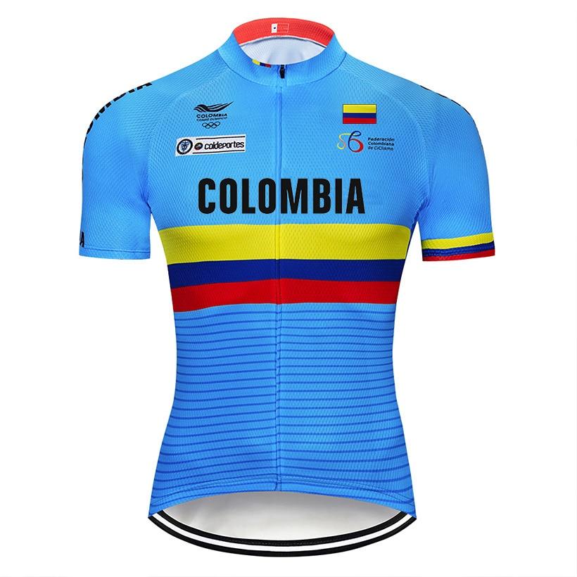 Maillot De Ciclismo De la nación para hombre, Ropa para bicicleta De...